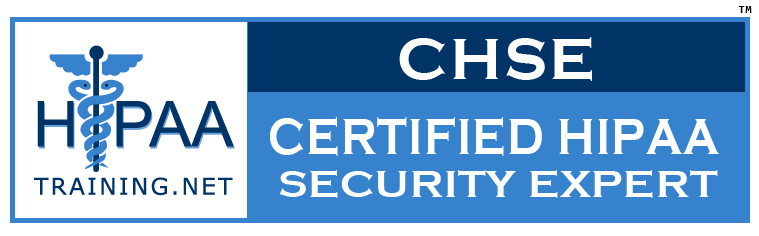 CERTIFIED HIPAA SECURITY EXPERT(CHSE)